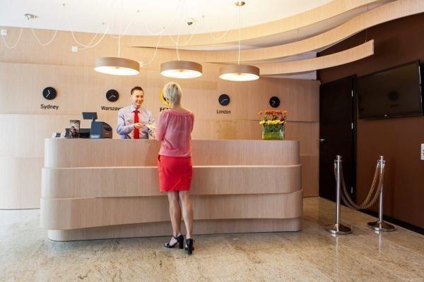 recepcja w hotelu Ecplipse